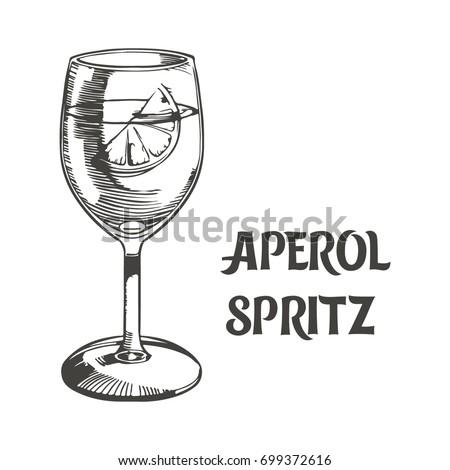 Long drink stock sn mky sn mky pro leny zdarma a vektory for Bicchieri aperol spritz
