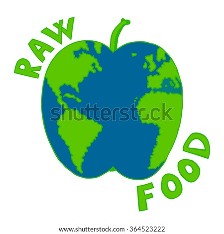 Globe globe world apple shaped stock images royalty free images apple fruit shaped the world map or earth globe vector illustration healthy eating organic food sustainable gumiabroncs Images
