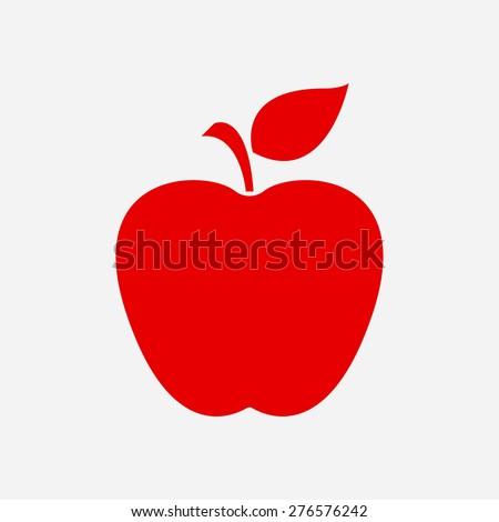 Apple icon. - stock vector