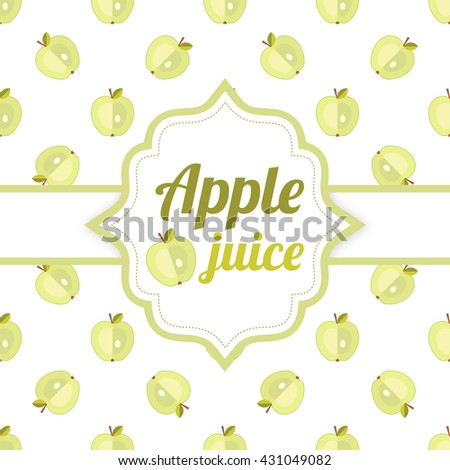 Apple juice, fruit juice