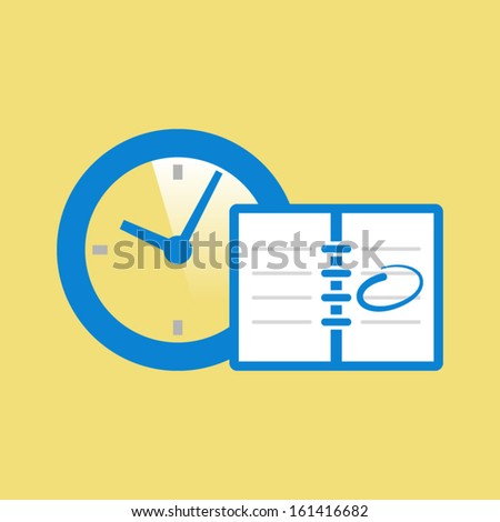 Appointment icon - stock vector