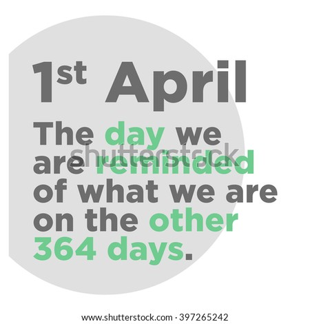 April First Fools Day Funny Quote
