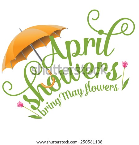 April showers bring may flowers design stock vector hd royalty free april showers bring may flowers design eps 10 vector royalty free stock illustration perfect for ads mightylinksfo