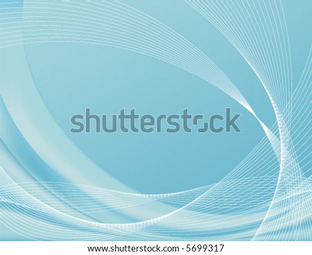Aqua background, complete with wire frames; perfect for templates Note: The vector file contains gradient meshes only editable in Adobe Illustrator. - stock vector