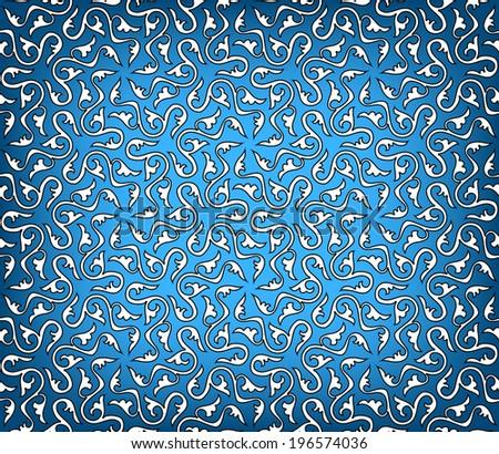 Arabesque. Modern seamless pattern. Vector Illustration. - stock vector