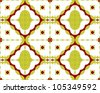 Arabesque pattern background, seamless. - stock vector