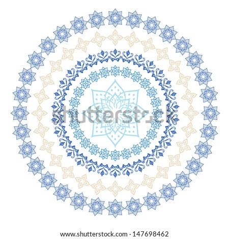 Arabic ornament for decoration vector - stock vector