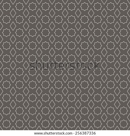 Arabic seamless pattern - stock vector