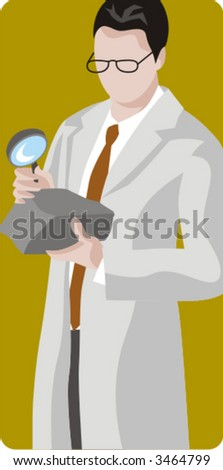 Archeology and geology vector illustration series. Check my portfolio for much more of this series as well as thousands of other great vector items. - stock vector