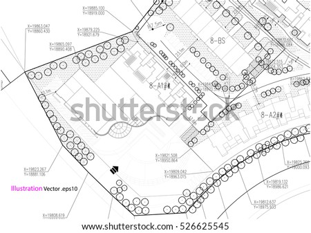 Architectural Background Architectural Plan Construction Drawing ...