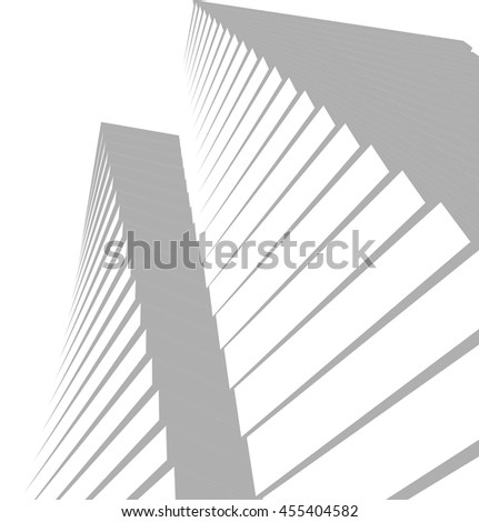 architectural background  vector 3d