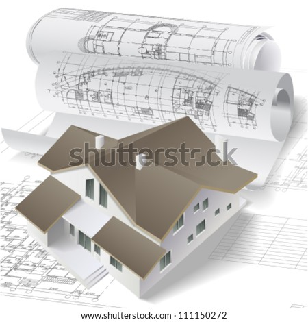 3d plan drawing stock images royalty free images for 3d plan drawing