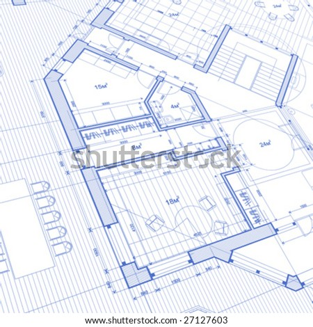 Stock images royalty free images vectors shutterstock for Architecture blueprints free