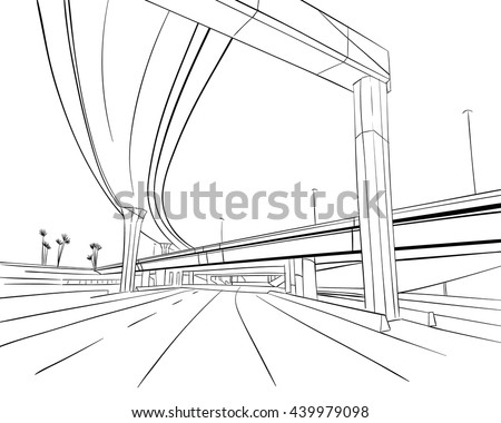 architecture construction bridge hand drawn sketch architectural drawings of bridges n30 bridges