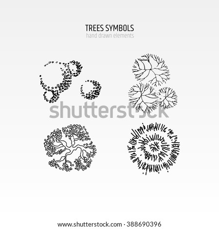 Architecture Drawing Of Trees architectural trees stock images, royalty-free images & vectors
