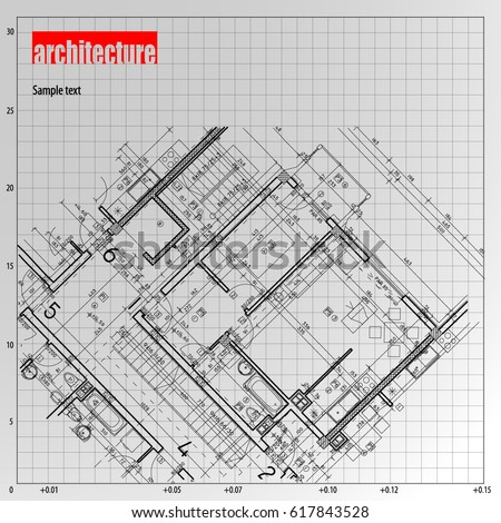 Architecture grid blueprint background sample stock vector 617843528 architecture grid blueprint background sample stock vector 617843528 shutterstock malvernweather Gallery