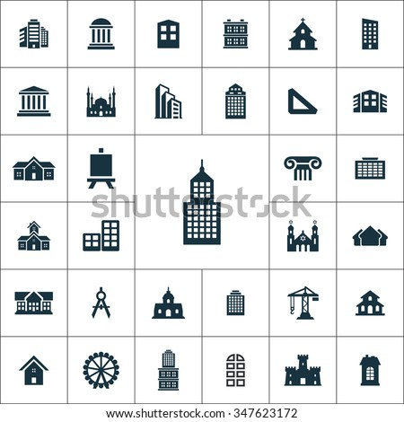 Architecture icon stock images royalty free images for Architecture icon