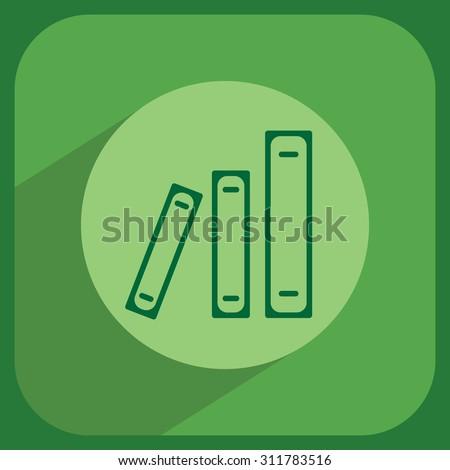 Archive folders vector icon - stock vector
