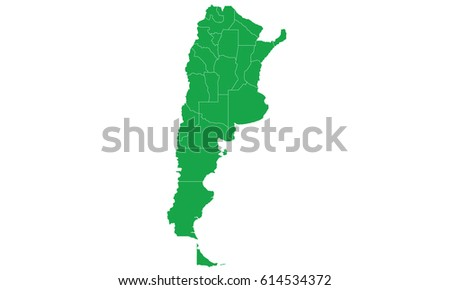 Argentina Map Outline Stock Images RoyaltyFree Images Vectors - Argentina map outline