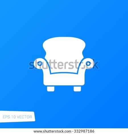Armchair Icon / Armchair Icon Path / Armchair Icon Image / Armchair Icon File / Armchair Icon Art / Armchair Icon UI / Armchair Icon JPG / Armchair Icon JPEG / Armchair Icon EPS / Armchair Icon AI - stock vector