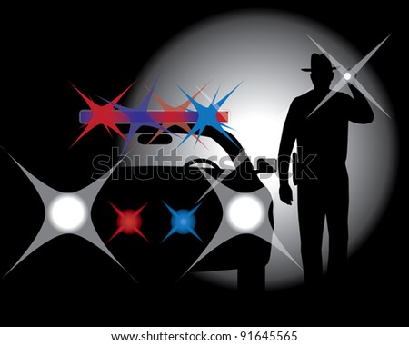Arrest - stock vector