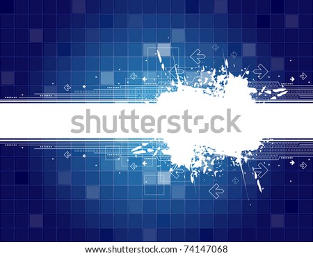 Arrow background with place for text - stock vector