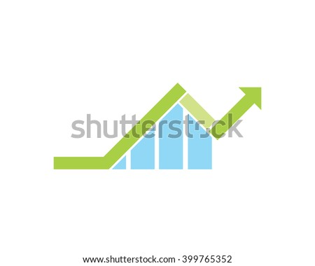 Arrow icon diagram chart graph bar stock vector 399765352 shutterstock arrow icon diagram chart graph bar data image icon ccuart Images