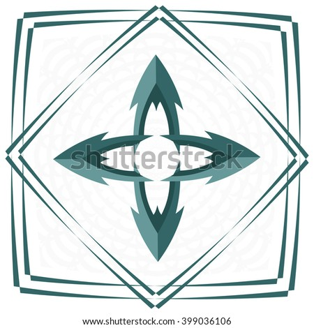arrow vector drawing set