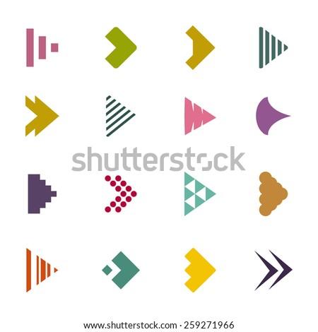 arrows - stock vector