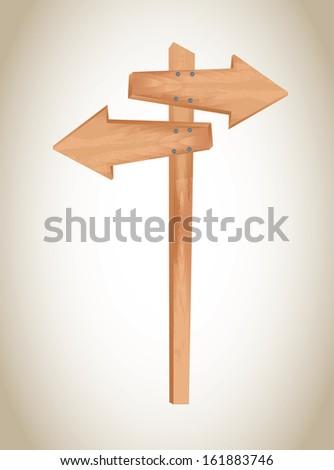 arrows design  over beige background vector illustration  - stock vector