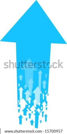 Arrows. Editable vector EPS file. - stock vector