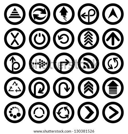 Arrow Icon Set Arrows Icon Set And