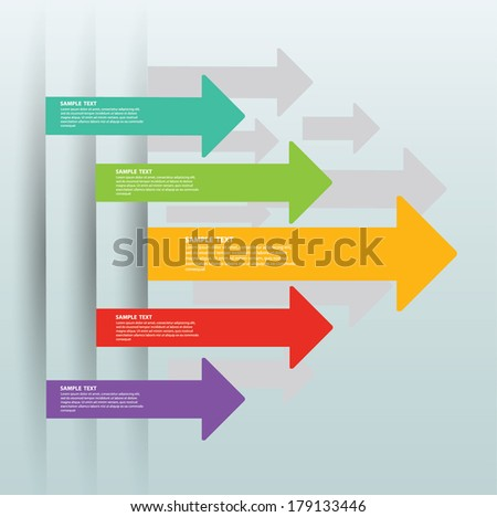 arrows vector - stock vector
