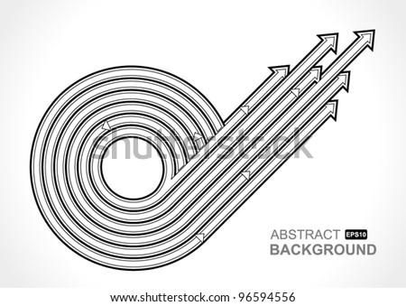 arrows vector - stock vector