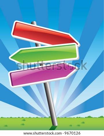 arrows - vector - stock vector
