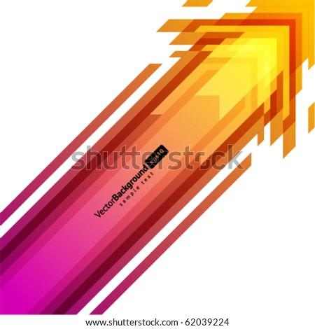 Arrows vector background. Eps 10 - stock vector