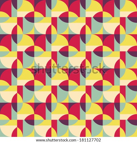 Art abstract ornate geometric textured background. Seamless pattern. Vector.