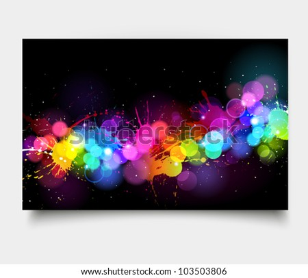Art background. Vector illustration - stock vector