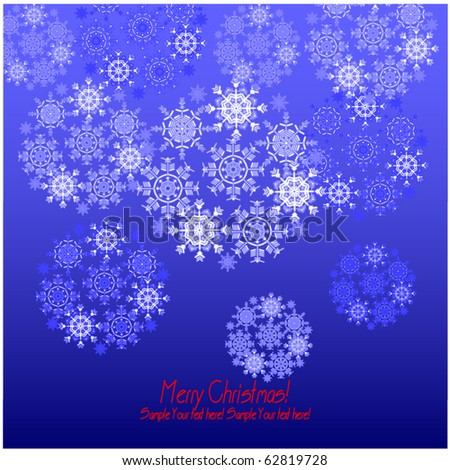 art christmas background - stock vector