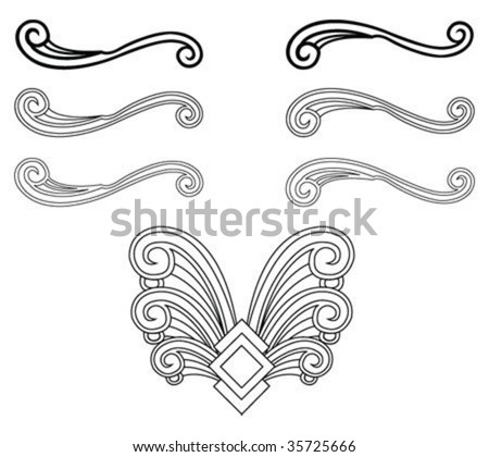 Art Deco Architecture Stock Images Royalty Free Images