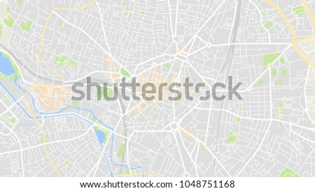 Art Map City Dijon Stock Vector 2018 1048751168 Shutterstock