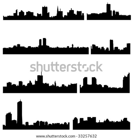 Asian Cities Series:The high-rise buildings in Korean Well-known cities