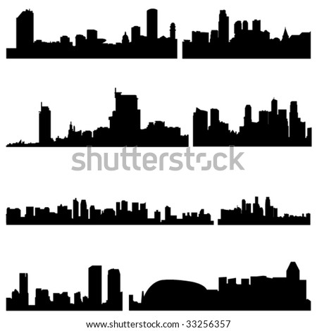 Asian Cities Series:The high-rise buildings in Singapore Well-known cities