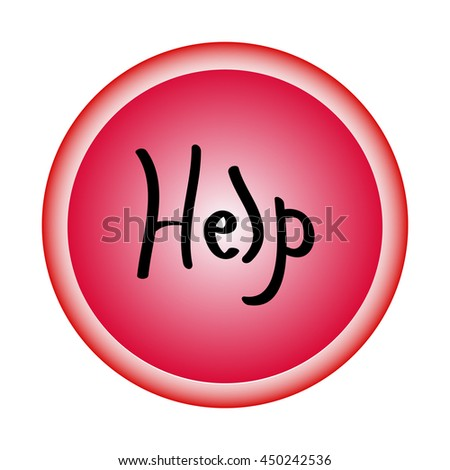 asking for help icon