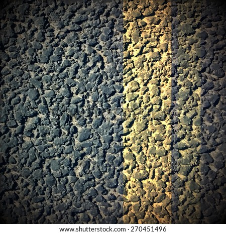 Asphalt as abstract background, vector illustration - stock vector