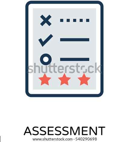 Assessment Vector Icon Stock Vector   Shutterstock