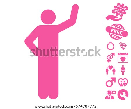 opinion pose pictograph bonus love pictograms stock vector 574987186 shutterstock. Black Bedroom Furniture Sets. Home Design Ideas