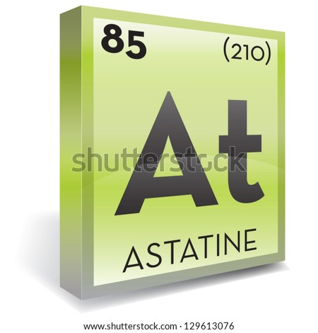 7 elements element 85 astatine excerpt The resulting astatine is short-lived, with a half-life of just over 7 hours and hence it is necessary to prevent it from being evaporated by cooling the bismuth target during irradiation 209 83 bi + 4 2 he → 111 85 at + 2 1 0 n.