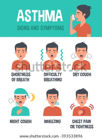 Asthma Stock Images RoyaltyFree Images Vectors Shutterstock - Asthma brochure template