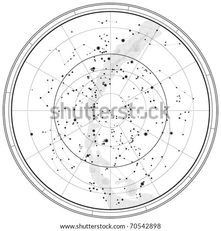 Constellation stock photos illustrations and vector art
